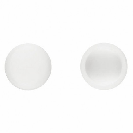 1000 bouchons en pvc Blanc pour vis DIN-7504-N et DIN-7981 D. 4,2 mm - TPCR042BL - Index