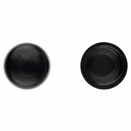 1000 bouchons en pvc Noir pour vis DIN-7504-N et DIN-7981 D. 4,8 mm - TPCR048NE - Index