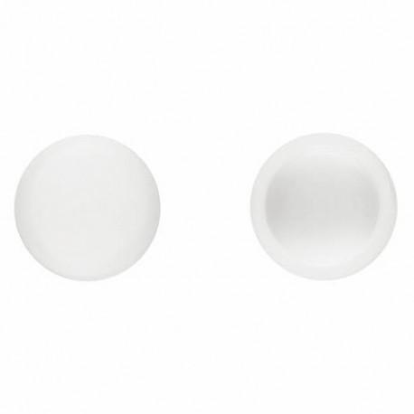 1000 bouchons en pvc Blanc pour vis DIN-7504-N et DIN-7981 D. 5,5 mm - TPCR055BL - Index