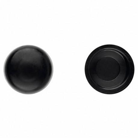 1000 bouchons en pvc Noir pour vis DIN-7504-N et DIN-7981 D. 5,5 mm - TPCR055NE - Index