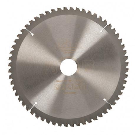 Lame de scie circulaire bois D. 216 x 30 mm x 60 dents Alt - 604821 - Triton