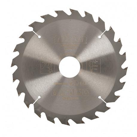 Lame de scie circulaire bois D. 165 x 30 mm x 24 dents Alt. - 702531 - Triton