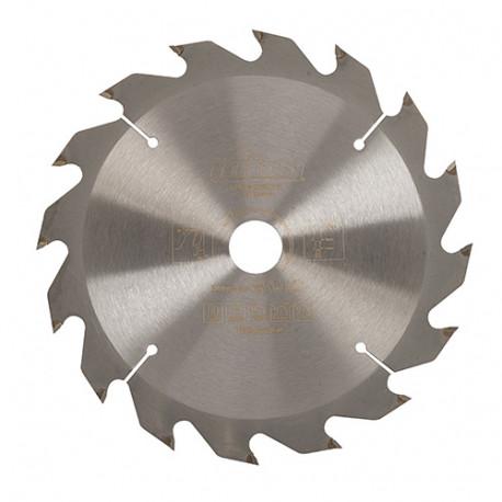 Lame de scie circulaire bois D. 165 x 20 mm x 16 dents Alt. - 751846 - Triton