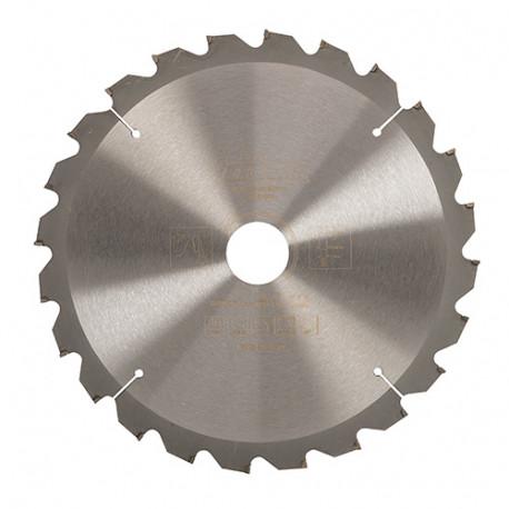 Lame de scie circulaire bois D. 216 x 30 mm x 24 dents Alt. - 808190 - Triton
