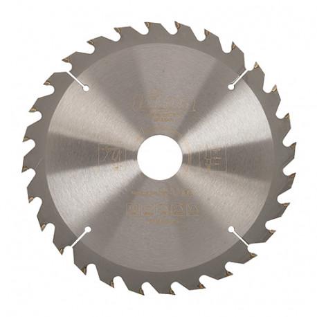 Lame de scie circulaire bois D. 184 x 30 mm x 28 dents Alt. - 811349 - Triton