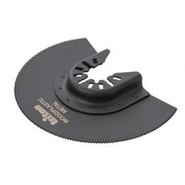 Lame de scie oscillante bimétal segment D. 88 mm bois et métal - 882378 - Triton