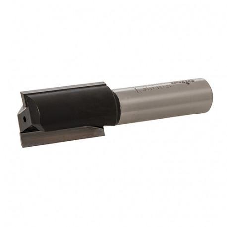 """Mèche de défonceuse à rainer droite D. 19,05 mm (3/4"""") x Q. 12,7 mm (1/2"""") x Z2 - 903364 - Triton"""