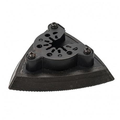 Patin de ponçage EVA auto-agrippant triangulaire 93 mm pour outil oscillant - 914924 - Triton