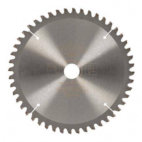 Lame de scie circulaire bois D. 165 x 20 mm x 48 dents - spéciale scie plongeante avec rail - 929275 - Triton
