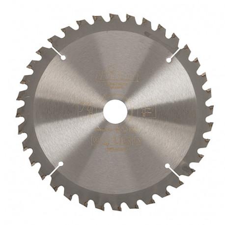 Lame de scie circulaire bois D. 165 x 20 mm x 36 dents Alt. - 962933 - Triton