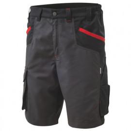 Bermuda de travail INN-BRAKE 12DUC1 Noir-Gris foncé - 35% coton 65% polyester - Ducati