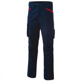 Pantalon de travail INN-HORN 10DUC10 Bleu Saylor - 50% coton 50% polyester - Ducati