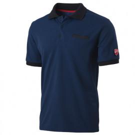 Polo avec poche INN-INDIANAPOLIS 22DUC2 Bleu Saylor - 55% coton 45% polyester - Ducati