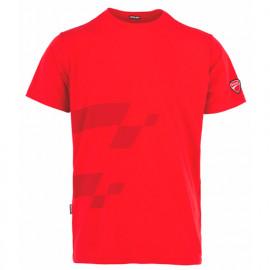 T-shirt imprimé INN-MISANO 20DUC4 Rouge - 90% coton 10% élasthanne - Ducati