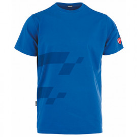 T-shirt imprimé INN-MISANO 20DUC4 Bleu royal - 90% coton 10% élasthanne - Ducati