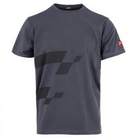 T-shirt imprimé INN-MISANO 20DUC4 Gris - 90% coton 10% élasthanne - Ducati