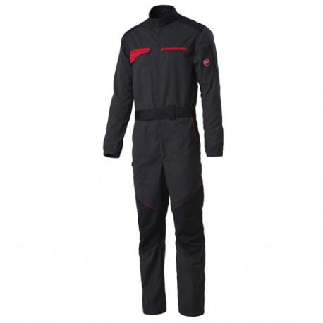 Combinaison de travail INN-TEAM 50DUC1 Gris foncé-Noir - 35% coton 65% polyester - Ducati