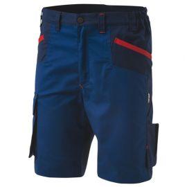 Bermuda de travail INN-BRAKE 12DUC1 Bleu Saylor-Bleu Como charbon - 35% coton 65% polyester - Ducati