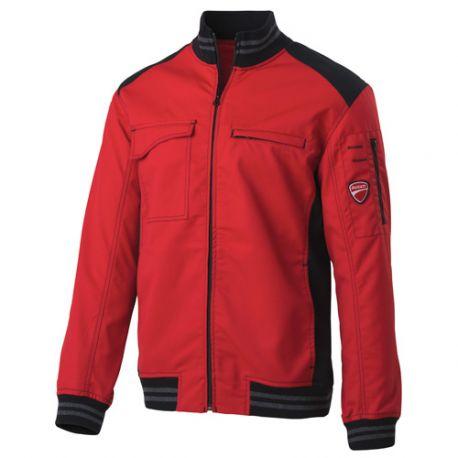 Blouson de travail INN-SPRINT 60DUC1 Rouge-Noir - 35% coton 65% polyester - Ducati
