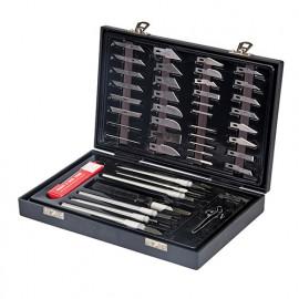 Coffret de scalpels 51 pièces - 251239 - Silverline