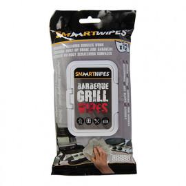 12 lingettes de nettoyage spéciales barbecue - 291364 - Smaart