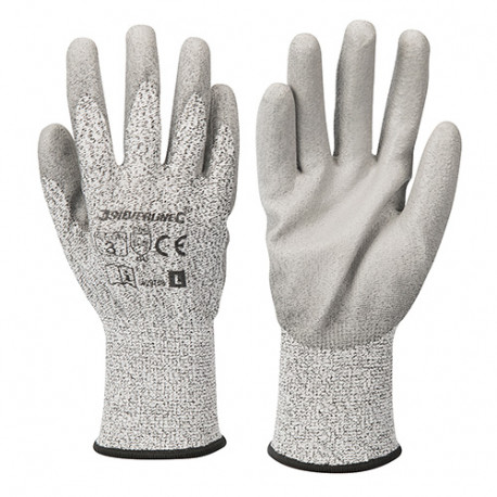 Gants anti-coupures classe 3 - Large - 429758 - Silverline