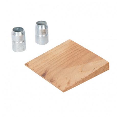 Coin et bagues pour manche de rechange - pour haches jusqu'à 2,72 kg - 474098 - Silverline