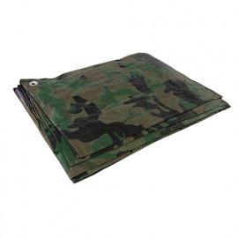 Bâche de camouflage 2,4 x 3 m - 488443 - Silverline