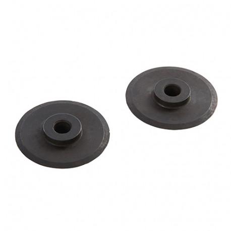 2 molettes pour coupe-tube à avance rapide - 6 x 30 mm - 495750 - Silverline