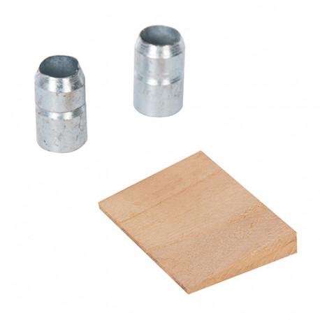 Coin et bagues pour manche de rechange 4,50 - 6,35 kg - 570078 - Silverline