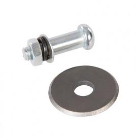 Molette de rechange pour coupe-carreaux - disque de 22 mm - 633006 - Silverline