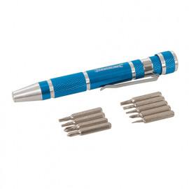 9 Tournevis de précision 110 mm - 633922 - Silverline