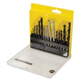 Coffret de 16 mèches pour perceuse 2 - 10 mm - 658071 - Task