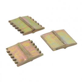 Fers gradine et ciseau 25 mm - 3 pièces - 675038 - Silverline