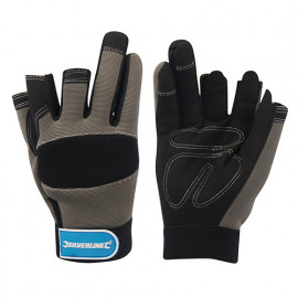 Gants-mitaines de mécanicien Medium - 675288 - Silverline