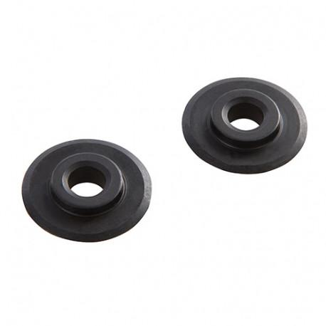 2 molettes de rechange pour mini-coupe-tube - 4,5 x 18 mm - 704611 - Silverline