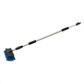 Brosse de nettoyage télescopique 1,32 - 2,14 m - 723890 - Silverline