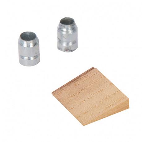 Coin et bagues pour manche de rechange 110 - 450 g - 778771 - Silverline
