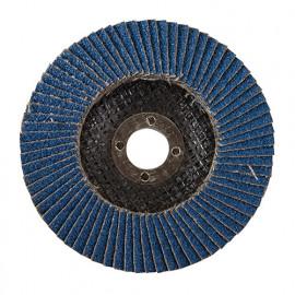 Disque à lamelles en zirconium D.100 mm Grain 40 - 783164 - Silverline