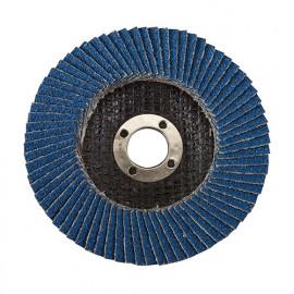 Disque à lamelles en zirconium D.100 mm Grain 60 - 793818 - Silverline