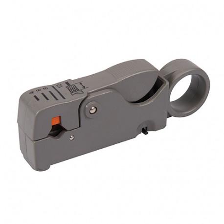 Dénudeur de câbles coaxiaux 100 mm - 868823 - Silverline
