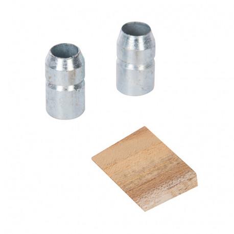 Coin et bagues pour manche de rechange 1,35 - 3,2 kg - 887115 - Silverline