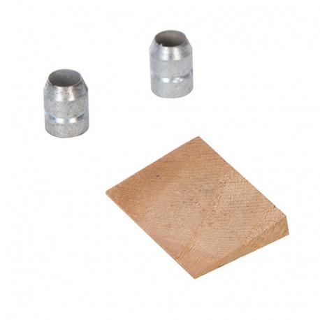 Coin et bagues pour manche de rechange 450 g - 1,15 kg - 905540 - Silverline