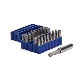 Silverline 245016 Coffret de 33 pi/èces dembouts 50 mm