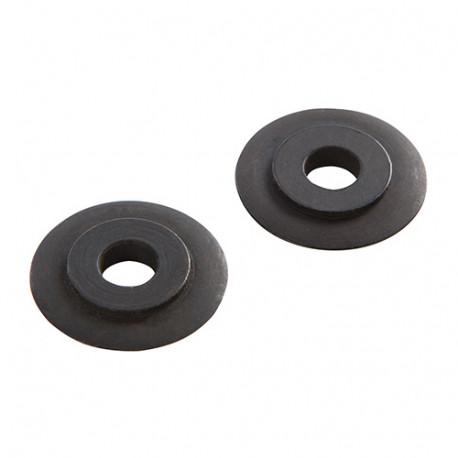 2 molettes de rechange pour coupe-tube - 3 x 18 mm - 961994 - Silverline