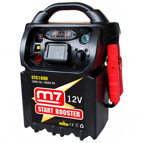 Booster de démarrage à super-condensateur 12V 1800 CA - 9000 PA - STC1800 - M7