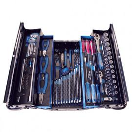Caisse à outils bleue complète 100 pcs - 902A100MRKB - King Tony