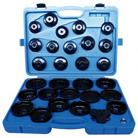 Coffret 30 pcs clés coiffe pour filtre à huile - 9AE6030 - King Tony