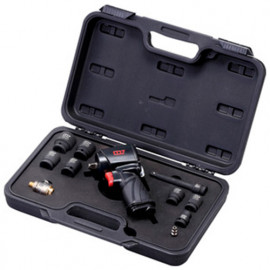 """Coffret clé à chocs pneumatique compacte 1/2"""" 900 Nm NC4650 avec accessoires - NC4650KIT - M7"""
