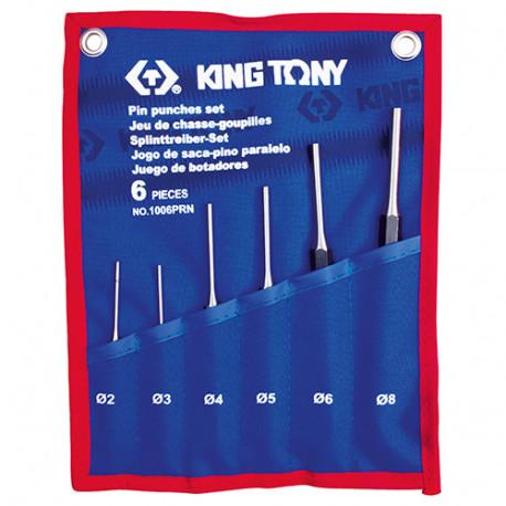 Trousse 6 pcs chasse-goupilles D. 2 à 8 mm - 1006PRN - King Tony